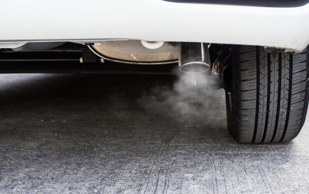 Pipe exhaust car smoke emission