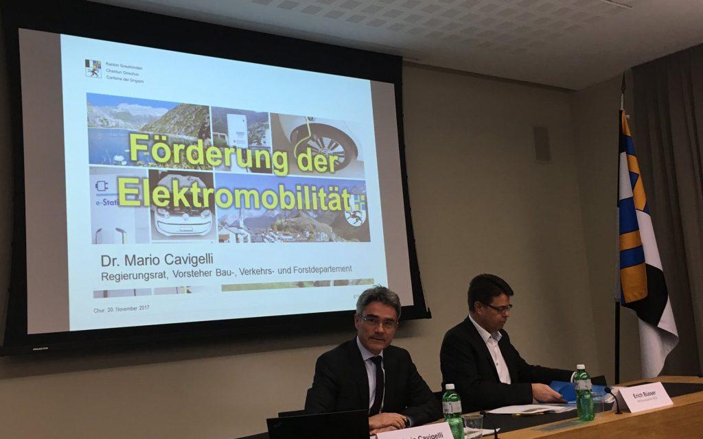 Medienkonferenz Chur