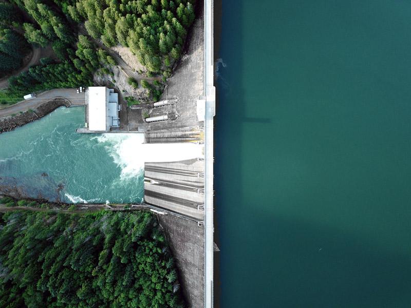 Wasserkraft ist die wichtigste Art der Stromproduktion in der Schweiz