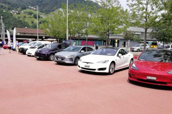 Tag der Elektromobilität 2020 in Landquart